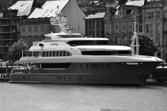Superyacht-Moored-Outside-of-Verrimus-Maritime-Training-Wing