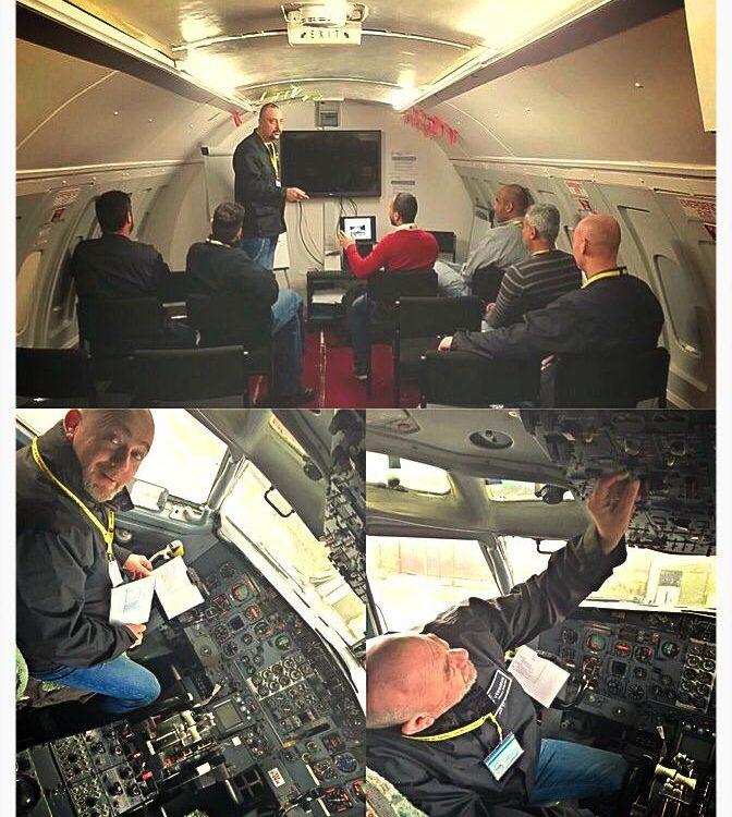 Aircraft TSCM Training